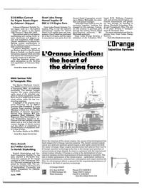 Maritime Reporter Magazine, page 9,  Jun 1989 Reader Service Card 1