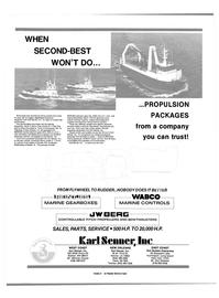Maritime Reporter Magazine, page 4th Cover,  Jun 1989 Olof Wadehn Enterprises 200 200th Place SE 25