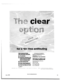 Maritime Reporter Magazine, page 69,  Jun 1989 Courtaulds Coatings June