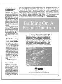 Maritime Reporter Magazine, page 85,  Jun 1989 Harman On Time Radio