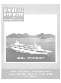 Maritime Reporter Magazine Cover Jul 1989 -
