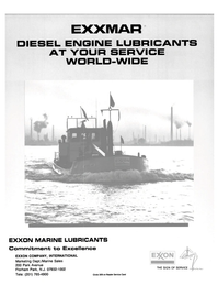Maritime Reporter Magazine, page 2nd Cover,  Jul 1989 Excellence EXXON COMPANY