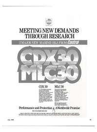 Maritime Reporter Magazine, page 37,  Jul 1989 LOCAL CASTROL MARINE OFFICE