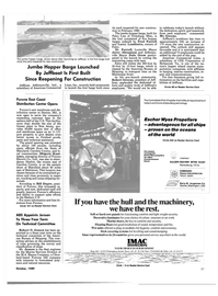 Maritime Reporter Magazine, page 27,  Oct 1989 Indiana
