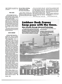 Maritime Reporter Magazine, page 47,  Oct 1989 Virginia