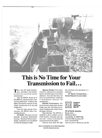 Maritime Reporter Magazine, page 4th Cover,  Oct 1989