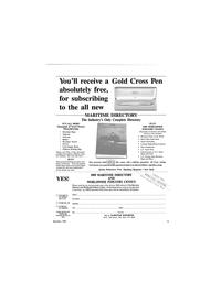 Maritime Reporter Magazine, page 13,  Dec 1989 New York