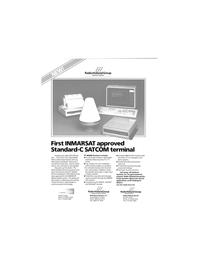 Maritime Reporter Magazine, page 34,  Dec 1989 INMARSAT