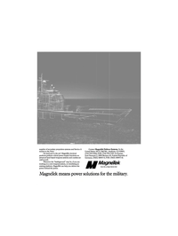Maritime Reporter Magazine, page 5,  Dec 1989 secondary propulsion systems