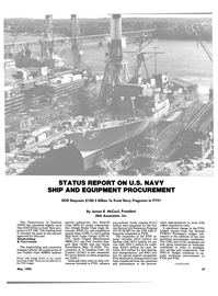 Maritime Reporter Magazine, page 25,  May 1990 REPORT ON U.S. NAVY