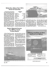 Maritime Reporter Magazine, page 41,  May 1990