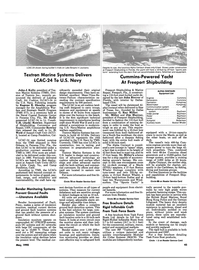 Maritime Reporter Magazine, page 43,  May 1990