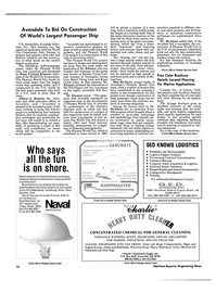 Maritime Reporter Magazine, page 13,  Jul 1990 Mississippi