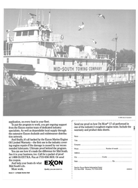 Maritime Reporter Magazine, page 24,  Jul 1990 Marine Engine Oil Limited