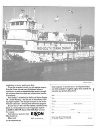 Maritime Reporter Magazine, page 26,  Jul 1990 Marine Engine Oil Limited