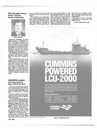 Maritime Reporter Magazine, page 48,  Jul 1990