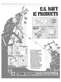 Maritime Reporter Magazine, page 52,  Jul 1990 WATERTIGHT CABINET FOR SOUND-POWERED HANDSET G15A