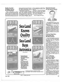 Maritime Reporter Magazine, page 58,  Jul 1990 Levin To Manage Seaworthy Systems West Coast Office
