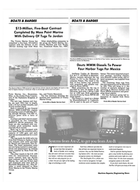 Maritime Reporter Magazine, page 61,  Jul 1990 National Oceanic and Atmospheric Administration