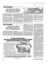 Maritime Reporter Magazine, page 65,  Jul 1990 Florida