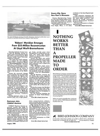Maritime Reporter Magazine, page 9,  Aug 1990