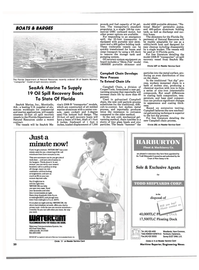 Maritime Reporter Magazine, page 20,  Aug 1990