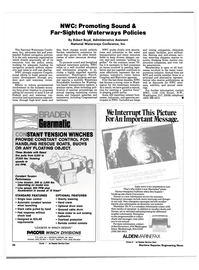 Maritime Reporter Magazine, page 26,  Aug 1990 Washington Watch