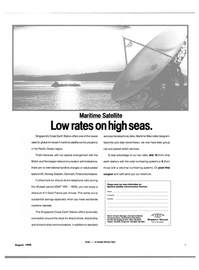 Maritime Reporter Magazine, page 1,  Aug 1990