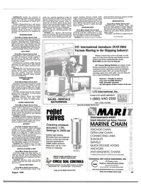 Maritime Reporter Magazine, page 49,  Aug 1990
