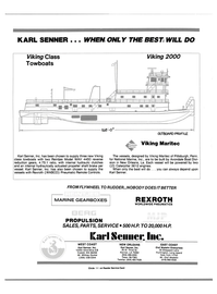 Maritime Reporter Magazine, page 4th Cover,  Aug 1990 Louisiana