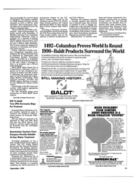 Maritime Reporter Magazine, page 13,  Sep 1990 California