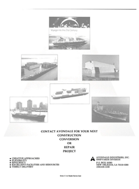 Maritime Reporter Magazine, page 2nd Cover,  Sep 1990 Louisiana