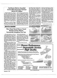 Maritime Reporter Magazine, page 21,  Sep 1990 Rescue Vessel