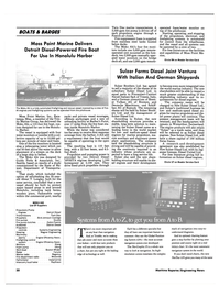 Maritime Reporter Magazine, page 28,  Sep 1990 Fire Boat
