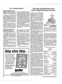 Maritime Reporter Magazine, page 46,  Sep 1990 the Aegis