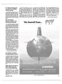 Maritime Reporter Magazine, page 49,  Sep 1990 Virginia
