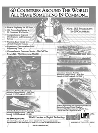Maritime Reporter Magazine, page 3rd Cover,  Sep 1990 Comprehensive Shipyard Development and Expansion Service