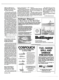 Maritime Reporter Magazine, page 11,  Dec 1990 Louisiana