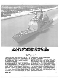 Maritime Reporter Magazine, page 25,  Dec 1990 Navy