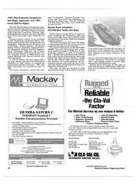 Maritime Reporter Magazine, page 40,  Dec 1990 New York