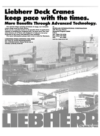 Maritime Reporter Magazine, page 3rd Cover,  Dec 1990 SCHILLER INTERNATIONAL CORPORATION