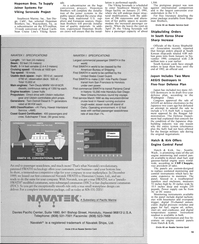 Maritime Reporter Magazine, page 13,  Jan 1991 Washington