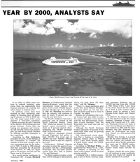 Maritime Reporter Magazine, page 23,  Jan 1991 New York