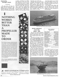 Maritime Reporter Magazine, page 32,  Jan 1991 Vasa Alternators