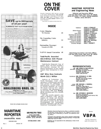 Maritime Reporter Magazine, page 2,  Jan 1991 Maritime Reporter/Engineering News