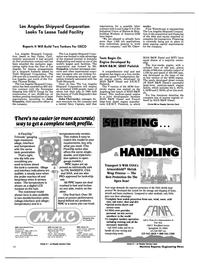 Maritime Reporter Magazine, page 18,  Feb 1991