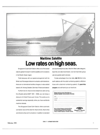 Maritime Reporter Magazine, page 1,  Feb 1991 Pacific Ocean