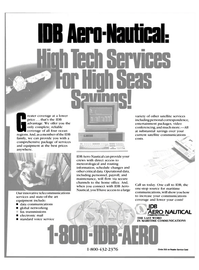 Maritime Reporter Magazine, page 37,  Feb 1991 communications coverage