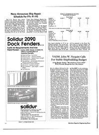Maritime Reporter Magazine, page 42,  Feb 1991 Center for Naval Analyses