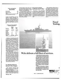 Maritime Reporter Magazine, page 43,  Feb 1991